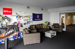 Products and Lounge Area
