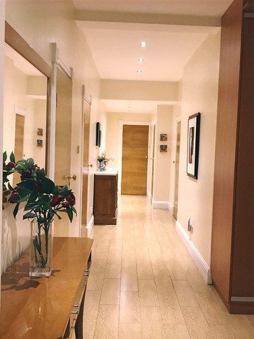 Entrance hallway - re-painted, furniture and accessories sourced and supplied