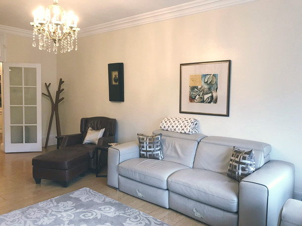 Living room #2 - see living room #1 for detail on works carried out