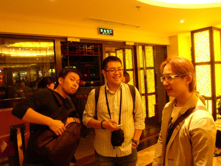 Before Peking Duck.jpg Hong is full of expectation