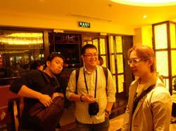 Before Peking Duck.jpg Hong is full of expectation