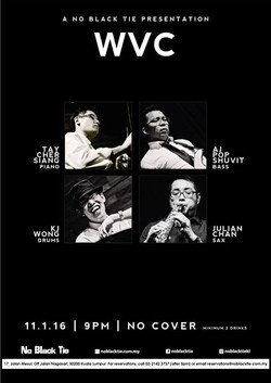 Here we go! Monthly WVC Jam Session at No Black Tie is on! _Jan 11, Today! 930pm