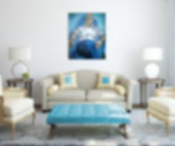 Recreation of Alice Neel's 'Virgil'   Oil on Canvas   2005