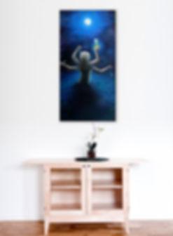 Allegory of Brenda   Oil on Canvas   2005