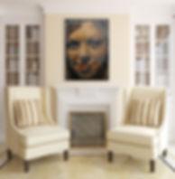 Self Portrait | Acrylic on Board | 2003