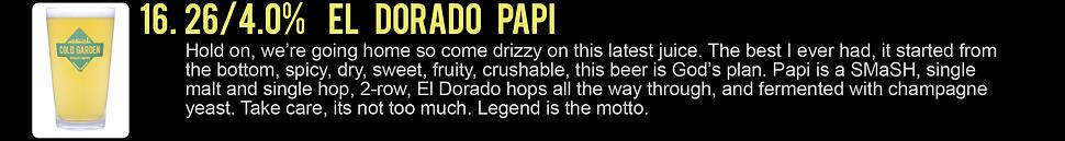 This Must Be The Menu - El Dorado Papi.p