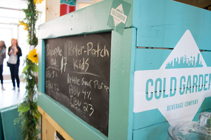 Cold Garden Beverage Company at the Market Collective