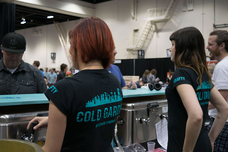 Cold Garden Beverage Company at BeerFest