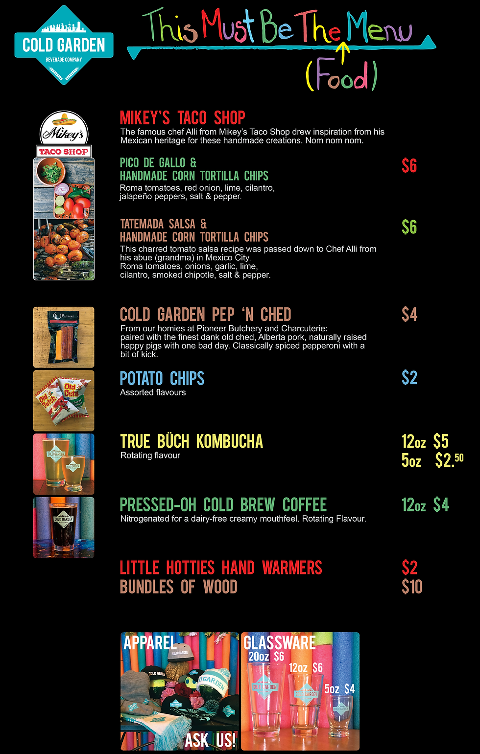 This Must Be The Menu - Updated Salsas.p