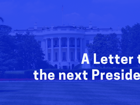 A Letter to the next President