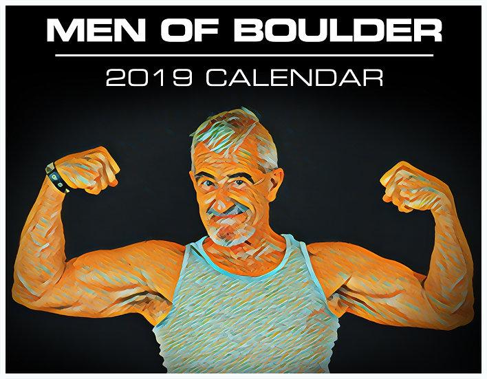 """MEN OF BOULDER"" - 2019 Calendar"
