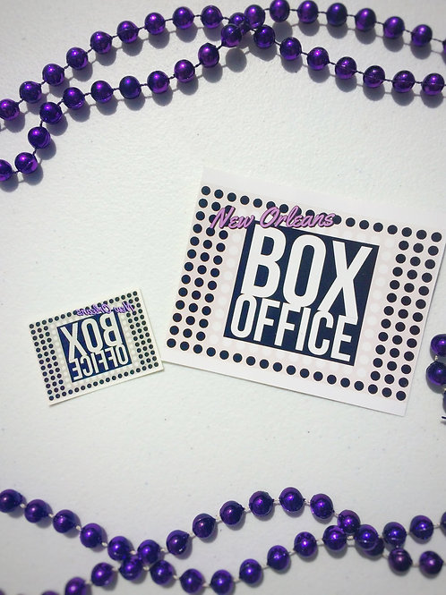 New Orleans Box Office Sticker