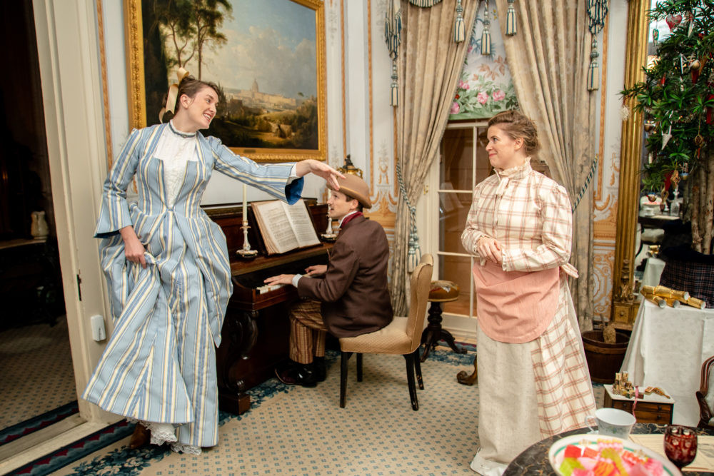 The Uninvited performed in the Gallier House New Orleans