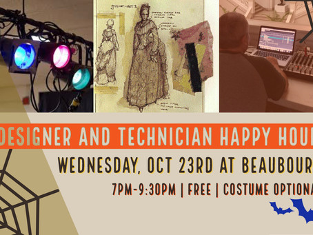 This October Join Us For Happy Hour!