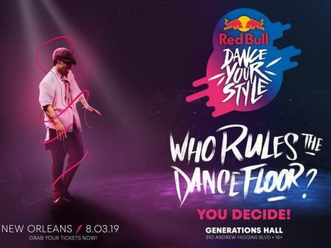 New Orleans Theatre and Dance August 1-6 2019