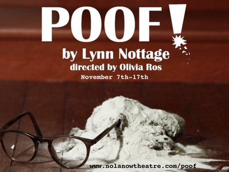 November Calendar for NOLA Theatre and Dance