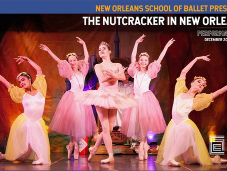 December Calendar for New Orleans Theatre & Dance