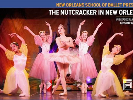 December Calendar for New Orleans Theatre & Dance