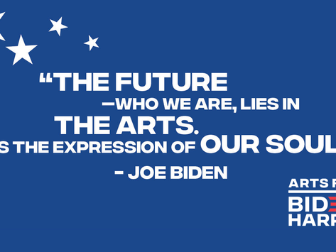 Vote For the Arts Nov 3rd