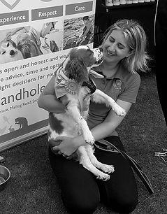 Rebecca at Sandhole Veterinary Centre