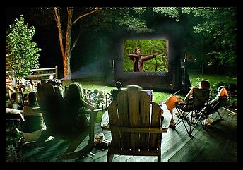 Best outdoor movie parties