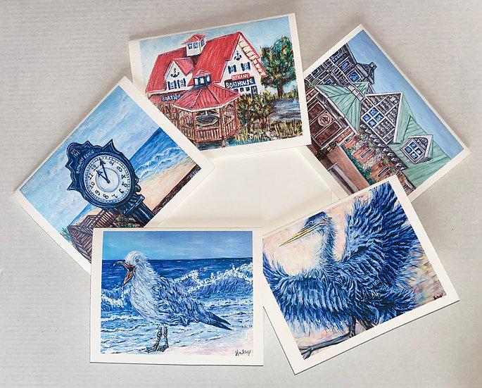 Bethany Beach Note Card Variety Packs