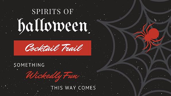 Spirits of Halloween Cocktail Trail Bethany Beach DE