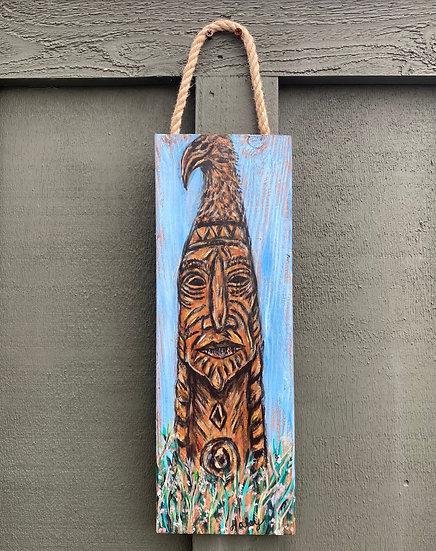 Bethany Beach Totem Art Hanging
