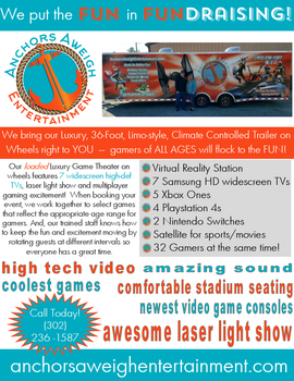 Fundraiser Flyer - Mobile Gaming