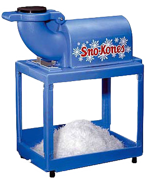 Anchors Aweigh Sno Cone Machine Rental