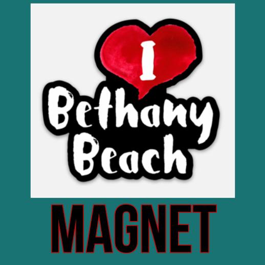 I Love Bethany Beach Magnet