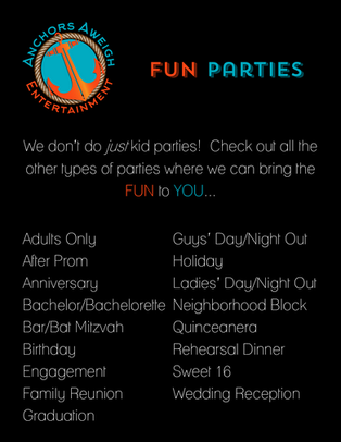 best party ideas party rentals ocean view delaware