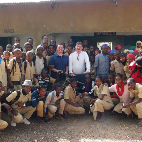 LOCAL STUDENT MAKES GOOD IN GUINEA