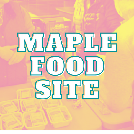 Maple is a Food Site!