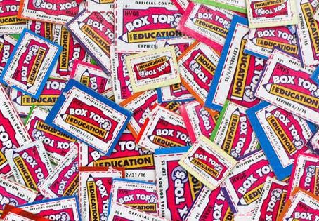 REMINDER: Turn in your box tops by October 20th!