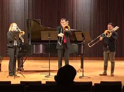 Trio at Arkansas Tbn Day