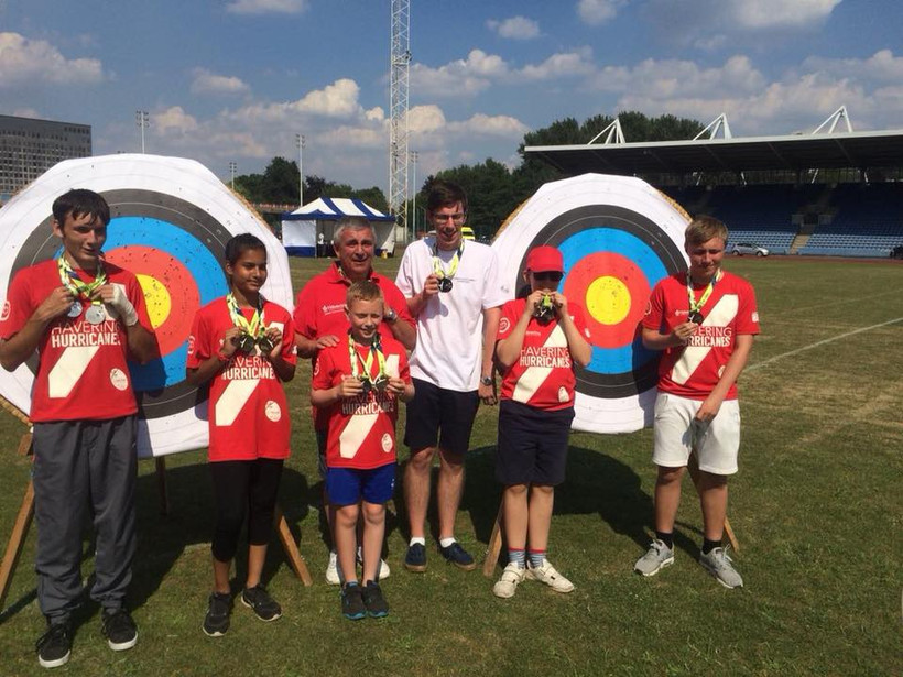 Noak Hill Juniors London Youth Games 2018