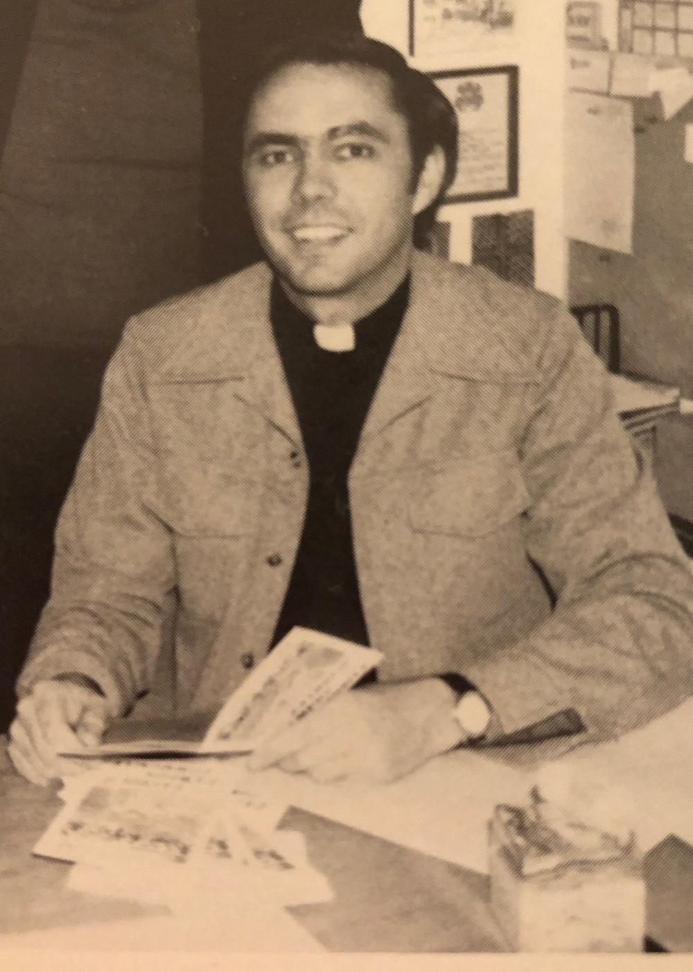 1978: Fr. Jack Hanna, University of St. Thomas yearbook, The Summa