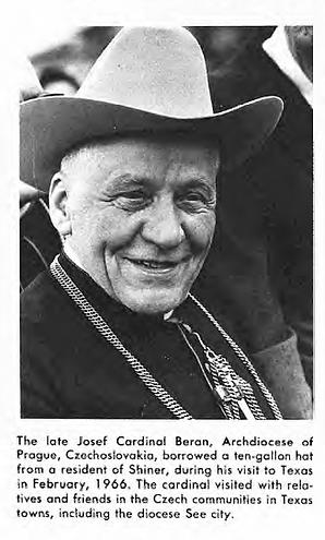 Cardinal Josef Beran, Prague, Czechoslovakia