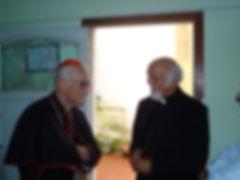 van Turic singing in Croatian Cardinal S