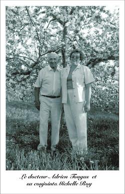 Mr et Mme Adrien Tougas