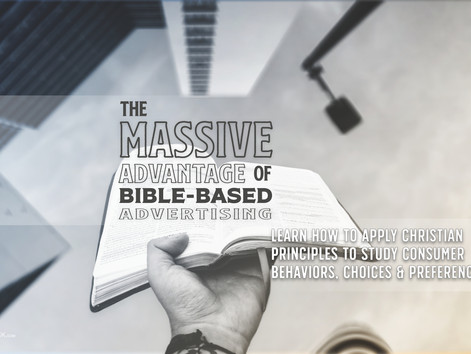 The massive advantage of Bible-based advertising