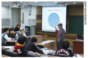 HYU Trains Hanyangians as Future Philanthropists