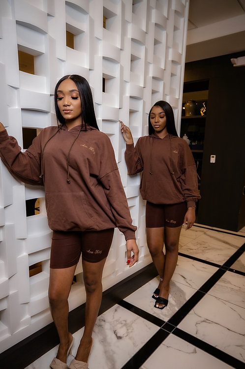 Twin Setters Brown 2 Piece Set
