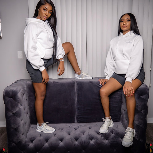 Twin Setters White Hoodie