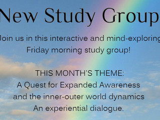 Jan 19 - NEW!! Introducing the Fri Morning Study Group! 10:00 - 12:00