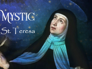FRI NOV 16: ST. THERESA OF AVILA'S LIFE AND TEACHING w/Juliana Cesano