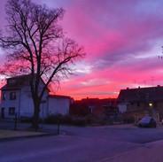 Sonnenaufgang Blankenhain