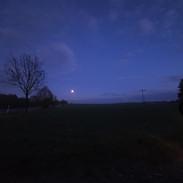 Abendstimmung bei Blankenhain