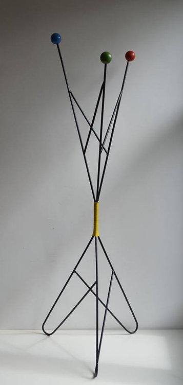 Kapstok ontworpen door Roger Feraud, Frankrijk, jaren '50